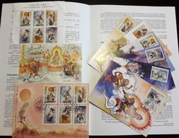 MACAU / MACAO (CHINA) - Journey To The West - 2007 - Stamps (full Set) MNH + Block MNH + FDC + 6 Maximum Cards + Leaflet - Lots & Serien