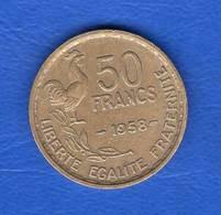 50  Fr  1958  Rare - France