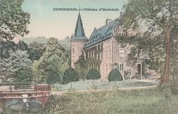 Remersdael  ,  Château D'Obsinnich   - Kasteel ;kleur ,couleur - Voeren