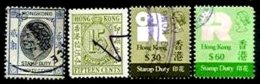 HONG-KONG, Stamp Duty, Used, F/VF - Hong Kong (...-1997)