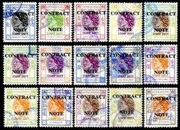 HONG-KONG, Contract Note, Used, F/VF, Cat. £ 42 - Hong Kong (...-1997)