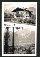 AK Bayerisch Gmain, Hotel Haus Rieser, Gesamtansicht Mit Umgebung - Deutschland