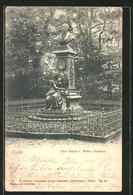 AK Eutin, Partie Am Carl Maria V. Weber-Denkmal - Eutin