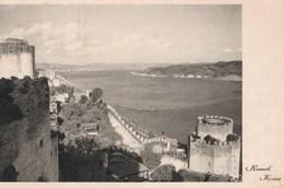 Carte Postale : Rumeli Hisari (Turquie ) La Forteresse  Ph. Bati Yayini    1954 - Turkey
