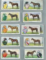Ogdens Cigarette Cards. 50/50 Full Set  Prominent Racehorses Of 1933  Rare Set. - Ogden's