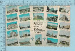 L'Abitibi Quebec - Bienvenue Au Nord Du Quebec, Multi-vues- Carte Postale, Postcard - Souvenir De...