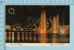 Expo67 - Terre Des Hommes, Lac Des Signes, Swan Lake    - Carte Postale, Postcard - Expositions