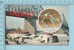 Expo67 - Terre Des Hommes,  Pavillon Alcan  - Carte Postale, Postcard - Expositions