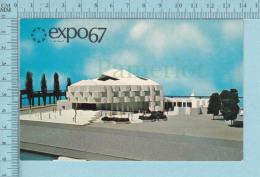 Expo67 - Terre Des Hommes,  Pavillon D'Israel - Carte Postale, Postcard - Expositions