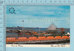Expo67 - Terre Des Hommes,  Vue De Terre Des Hommes - Carte Postale, Postcard - Expositions