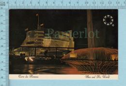 Expo67 - Terre Des Hommes,  Pavillon De La France Le Soir - Carte Postale, Postcard - Expositions