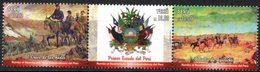 Peru 2018 ** Bicentenario Independencia: Cruce Andes. Escudo. Batalla Ayacucho - Perú