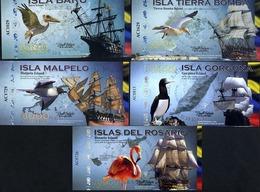 POLYMER SET El Club De La Moneda, 1000;2000;5000;10000;20000 2014 Islands - Andere