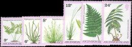 Ascension 1980 Ferns And Grasses Unmounted Mint. - Ascension (Ile De L')