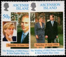 Ascension 1999 Royal Wedding Unmounted Mint. - Ascension (Ile De L')