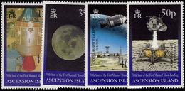 Ascension 1999 Moon Landing Unmounted Mint. - Ascension (Ile De L')