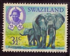 Suazilândia  1969 - Native Wild Animals ***Neuf - Swaziland (1968-...)