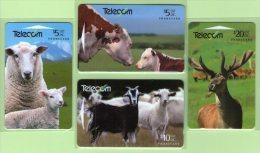New Zealand - 1994 Farm Animals Set (4) - NZ-G-90/3 - Very Fine Used - Nuova Zelanda