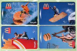 New Zealand - 1995 McDonalds Set (4) - NZ-A-136/9 - Mint - New Zealand