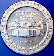 $1 Casino Token. Frontier, Las Vegas, NV. 1967. D94. - Casino