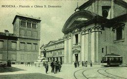 MODENA PIAZZALE E CHIESA S DOMENICO    Italien, ITALIA, ITALY, ITALIE - Modena