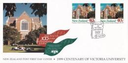 New Zealand 1999 Centenary Of Victoria University Of Wellington FDC - FDC