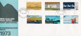 New Zealand 1973 Commemorative Issue - Anniversaries FDC - FDC