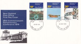New Zealand 1979 25th Commonwealth Parliamentary Conference FDC - FDC