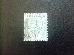 ZULULAND Zoulouland 1894 REINA VICTORIA Yvert 19 FU Stanley Gibbons 25 FU Fil Corona - Zululand (1888-1902)