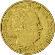 Monnaie, Monaco, Rainier III, 10 Centimes, 1979, TTB, Aluminum-Bronze, KM:142 - 1960-2001 Nouveaux Francs