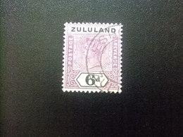 ZULULAND 1894 REINA VICTORIA Yvert 18 FU Stanley Gibbons N 24 FU Fil Corona - Zululand (1888-1902)
