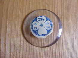 Verre Bombé De Montre à Gousset, Légèrement Bombé Diamètre 2,94 Cm - Jewels & Clocks