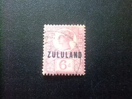 ZULULAND 1888 REINA VICTORIA Yvert  8 FU Stanley Gibbons 8 FU Fil Corona - Zululand (1888-1902)