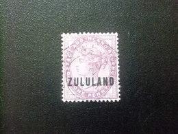 ZULULAND 1888 REINA VICTORIA Yvert N 2  Usado Stanley Gibbons N 2 FU Fil Corona - Zululand (1888-1902)