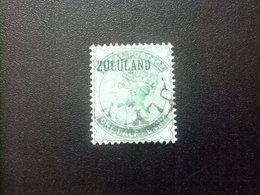 ZULULAND 1888 REINA VICTORIA Yvert N 12 FU SG. N 12 FU Fil Corona CA - Zululand (1888-1902)