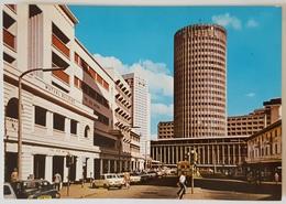 NAIROBI - KENYA - City Center - Hilton Hotel - Mutual Bulding Cars Peugeot Nv - Kenia