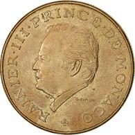 Monnaie, Monaco, Rainier III, 10 Francs, 1981, TTB, Copper-Nickel-Aluminum - Monaco