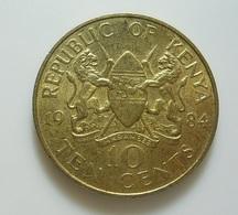 Kenya 10 Cents 1984 - Kenya