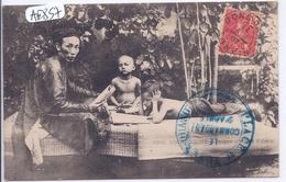 COCHINCHINE- SAIGON- MAITRE D ECOLE - Cartes Postales