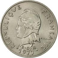 Monnaie, French Polynesia, 20 Francs, 1977, Paris, TTB, Nickel, KM:9 - French Polynesia