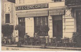 Bastogne - Café Concordia - Edit. Photo Schumacher, Bastogne/Nels - Cafés