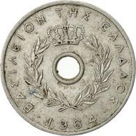 Monnaie, Grèce, 10 Lepta, 1964, TB, Aluminium, KM:78 - Grèce
