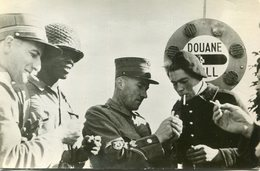 MILITARIA(GUERRE 1939_45) SIENNE A BELFORT(FRONTIERE SUISSE) DOUANIER - Customs