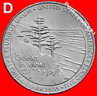 "USA, 5 Cents 2005 ""OCEAN IN VIEW""  - ""D"". - Émissions Fédérales"