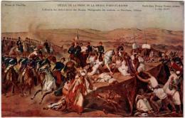 6BST 348. MUSEE DE VERSAILLES  - DETAIL DE LA PRISE DE LA SMALA D'ABD-EL-KADER - EMILE-JEAN HORACE VERNET - Versailles