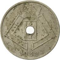 Monnaie, Belgique, 10 Centimes, 1938, TB, Nickel-brass, KM:112 - 02. 10 Centimes