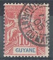 GUYANE N°44  Oblitération De Saint-Laurent-du-Maroni - Guyane Française (1886-1949)