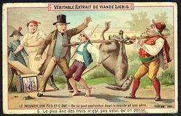 LIEBIG  - FR -  1 Chromo N° 6 -  Série/Reeks S.0338 - Le Meunier, Son Fils Et L'âne. - Liebig
