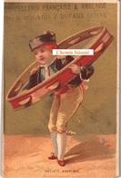 Chromo CHAPELLERIE DUFAUX Genève Suisse - Artiste Andaloux -  Scans Recto-verso - Trade Cards
