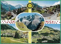 ! - Suisse - Vues Des Communes Val D'Illiez, Troistorrents, Morgins Et Champéry + Massif Les Dents Du Midi - VS Valais